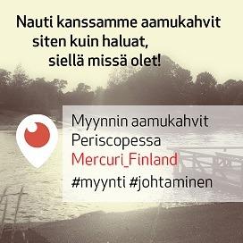 Myynnin aamukahvit 9.12.2016 - vieraana Vainun Mikko Honkanen