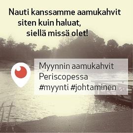 Myynnin aamukahvit 9.11.2016 - vieraana Timo Häkkinen