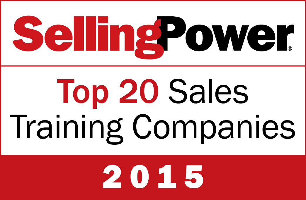 Selling Power listasi Top 20 Sales Training Companies 2015 yritykset
